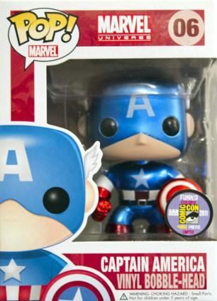 Captain America Funko Pop