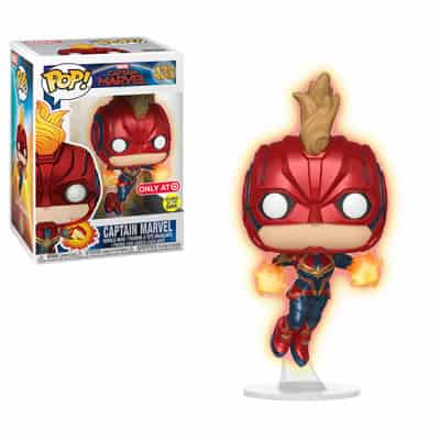 Captain Marvel Funko Pop Vinyl Nerd Upgraded
