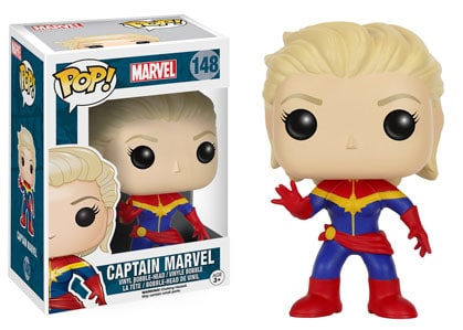 Captain Marvel Funko Pop Vinyl