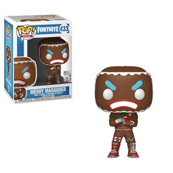 Merry Marauder Fortnite Funko Pop Vinyl Nerd Upgraded