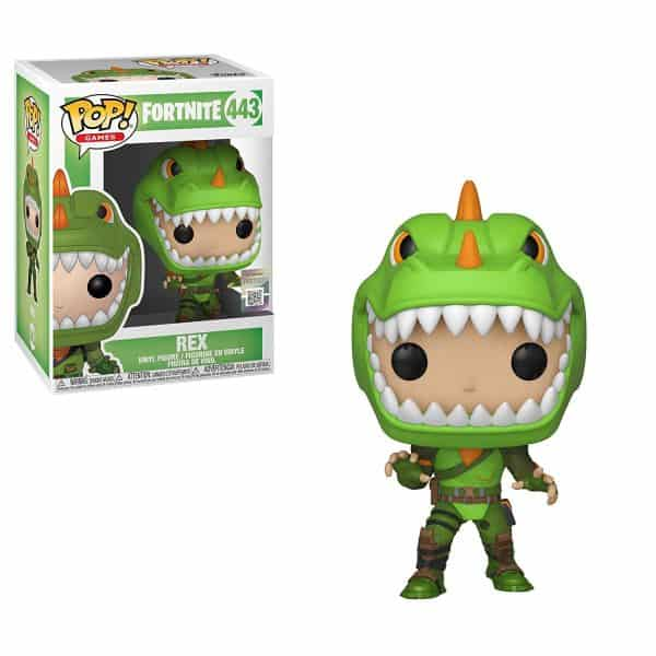 Rex Fortnite Funko Pop Vinyl Nerd Upgraded