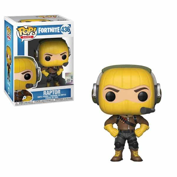 Raptor Fortnite Funko Pop Vinyl Nerd Upgraded