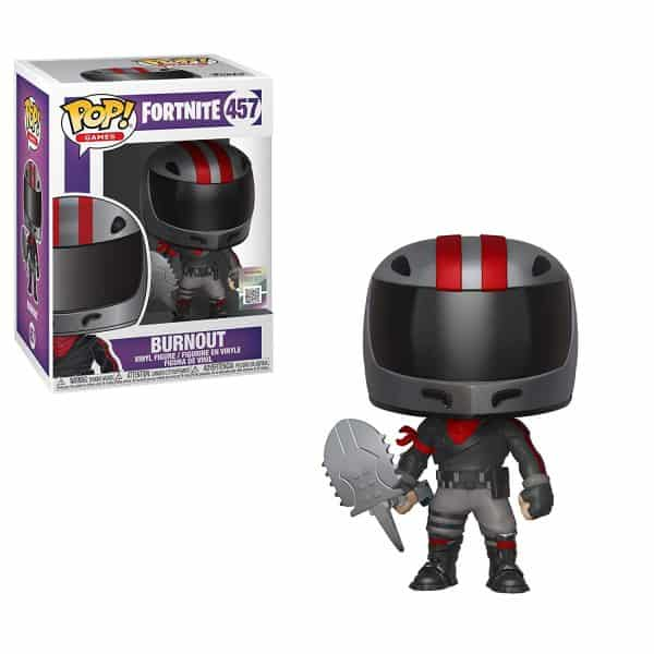 Burnout Fortnite Funko Pop Vinyl Nerd Upgraded