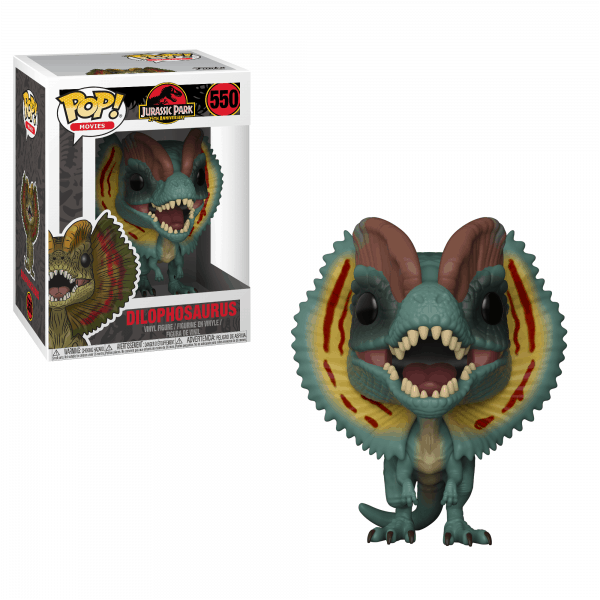 Jurassic Park Funko Pop Vinyls Nerd Upgraded