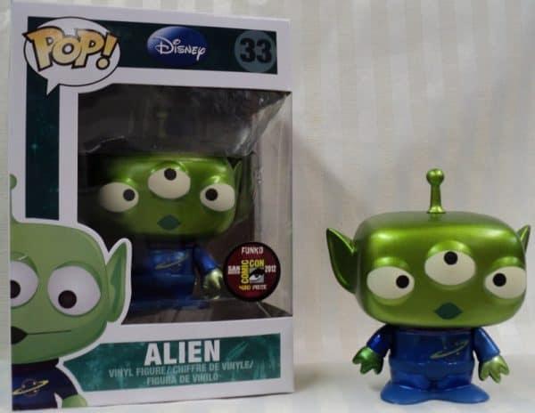 Alien Funko Pop Metallic Disney