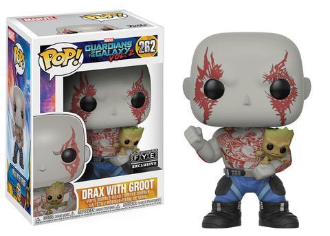Drax with Groot Funko Pop Marvel