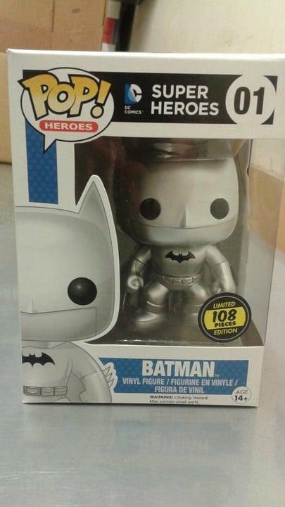 Batman Silver Funko Pop