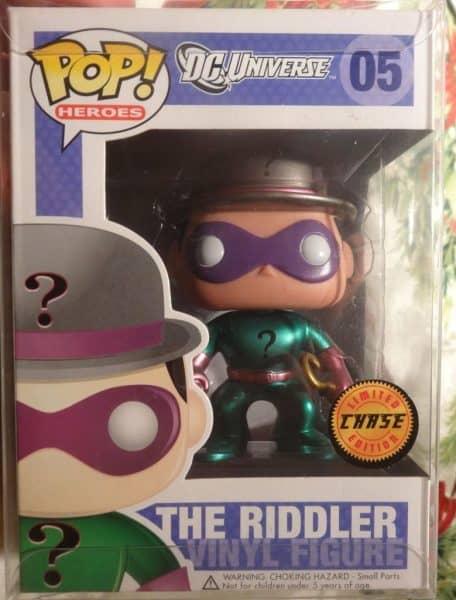 Riddler Funko POp Rare