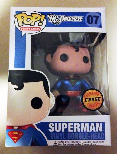 Superman Funko Pop Rare