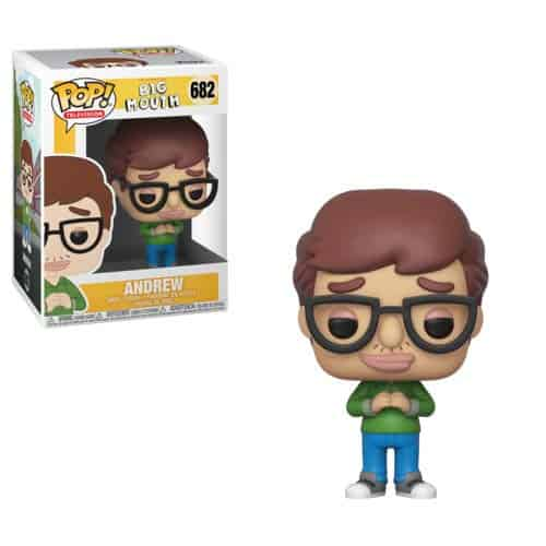 Andrew Big Mouth Funko Pop