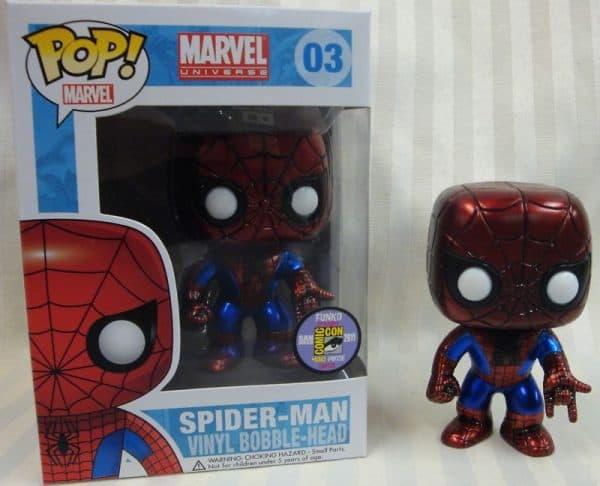 Spider-Man Funko Pop Rare