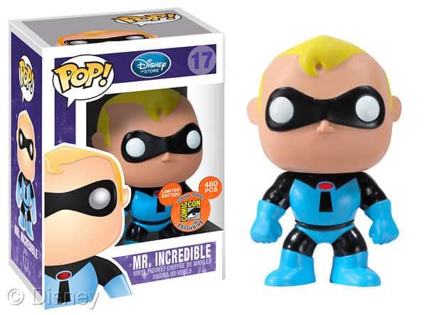 Mr Incredible Blue Suit Funko Pop
