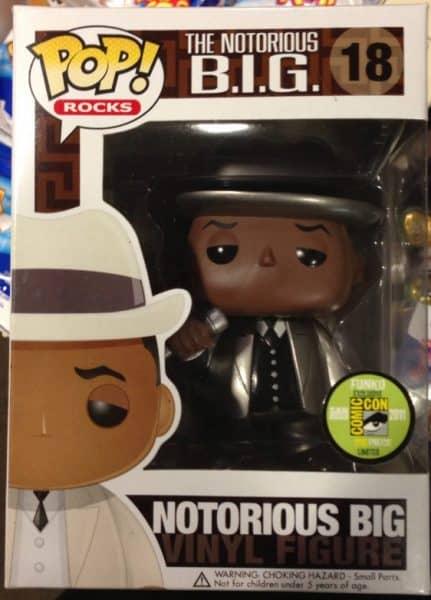 Notorious BIG Funko Pop Rare