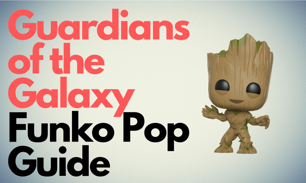 Guardians of The Galaxy Funko Pop