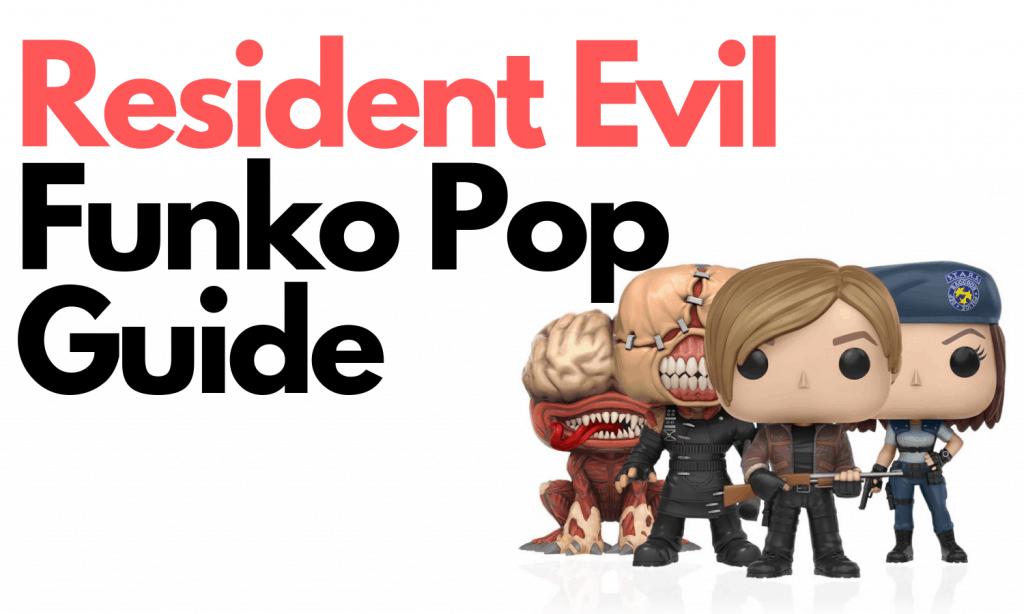 resident evil funko pops