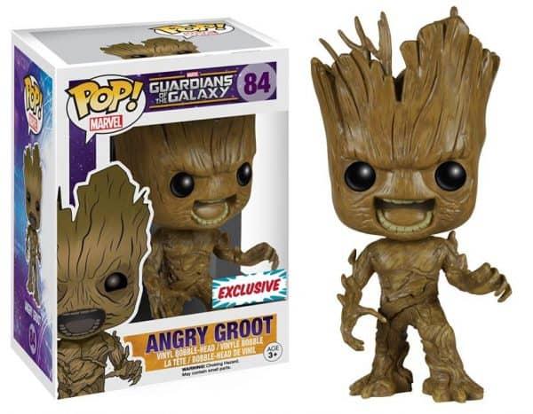 Angry Groot Funko Pop Marvel