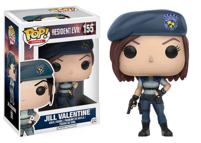 Jill Valentine Funko Pop