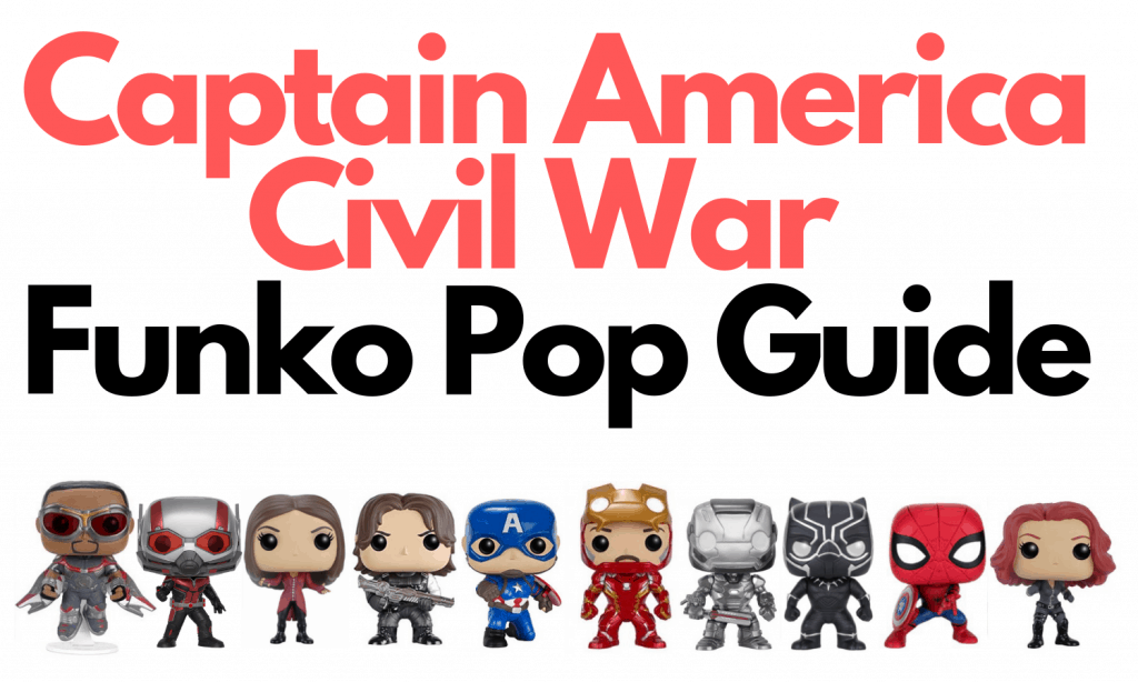 Civil War Funko Pop Marvel
