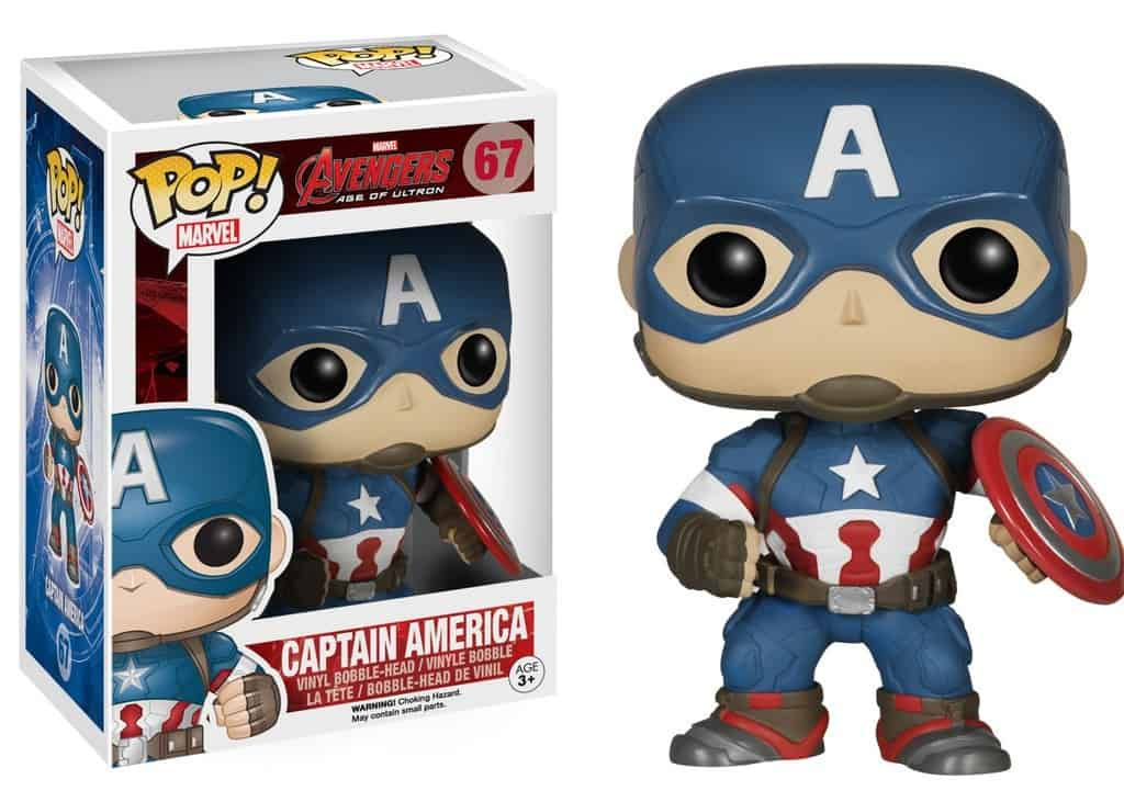 Captain America Funko Pop Avengers
