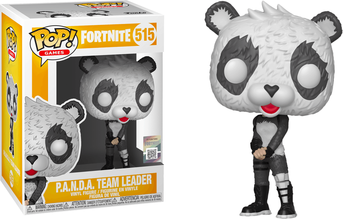 PANDA Team Leader Pop