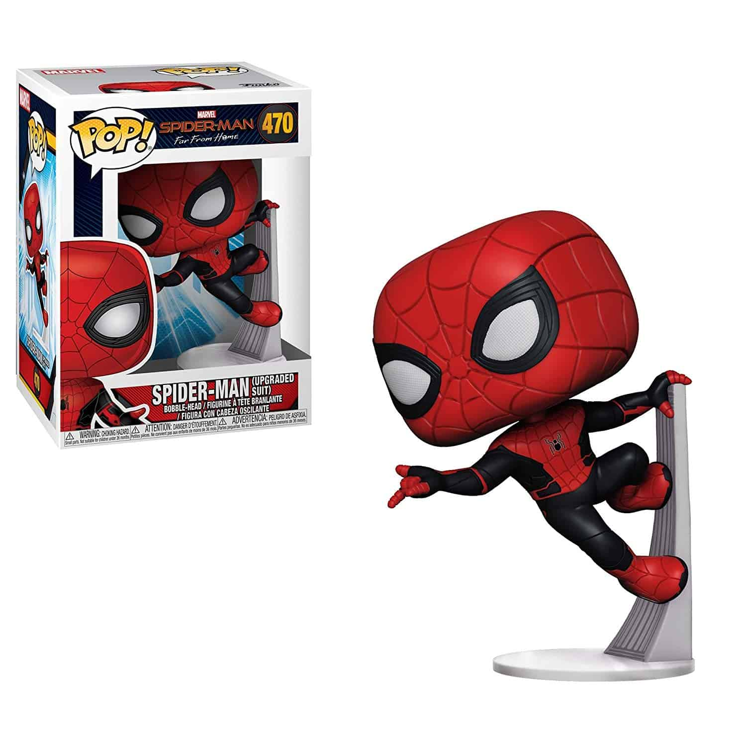 Funko Pop Spider-Man Far From Home Stealth Suit Goggles Up #476 Target Exclusive