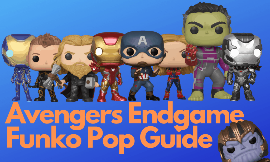 Avengers Endgame Funko Pops