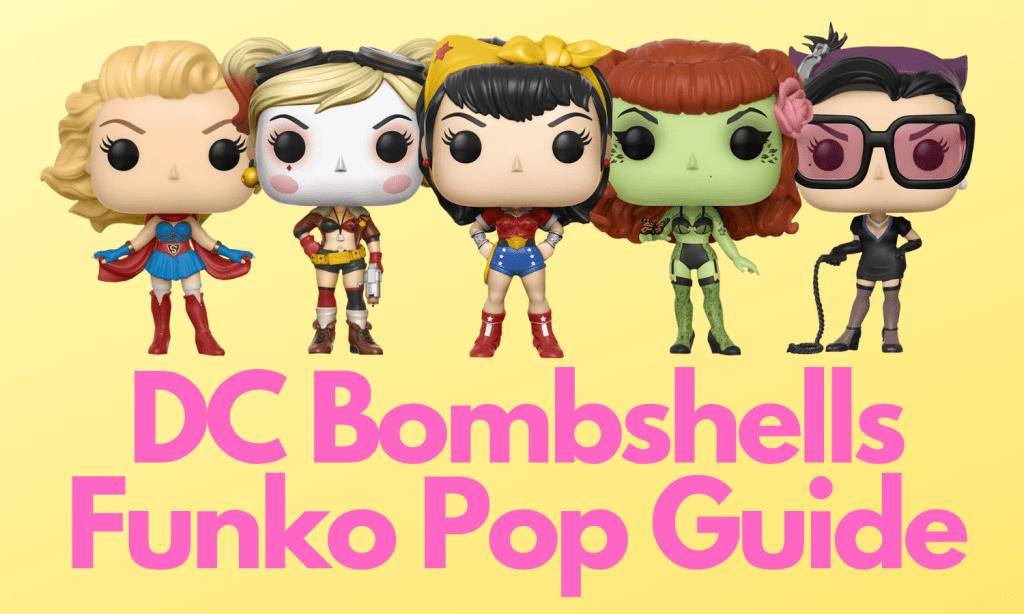 DC Bombshells Funko Pop