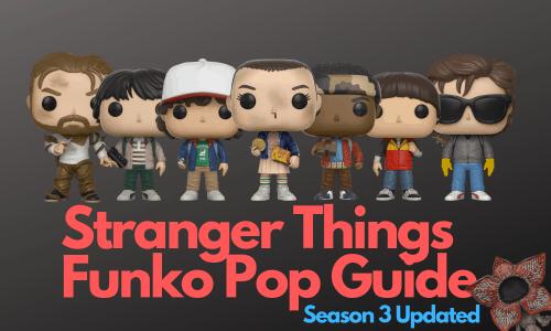 Stranger Things Funko Pops
