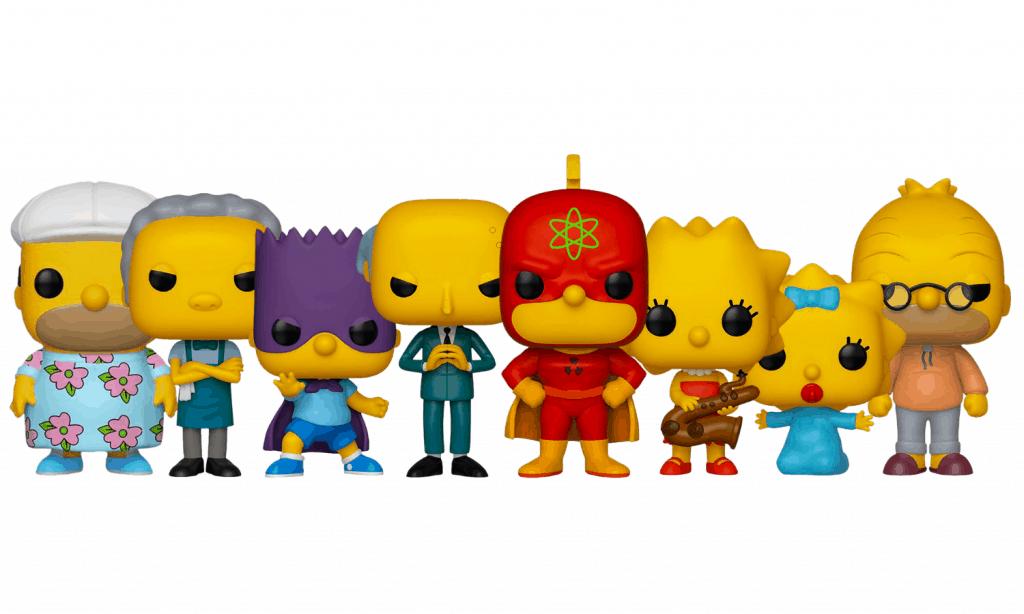The Simpsons Funko Pops