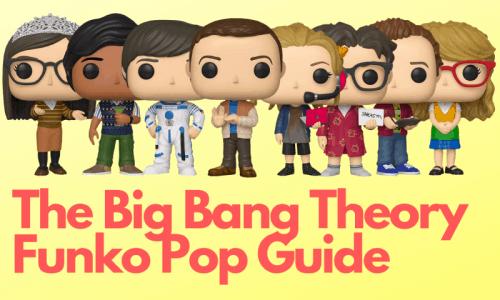 Big bang theory Funko pops