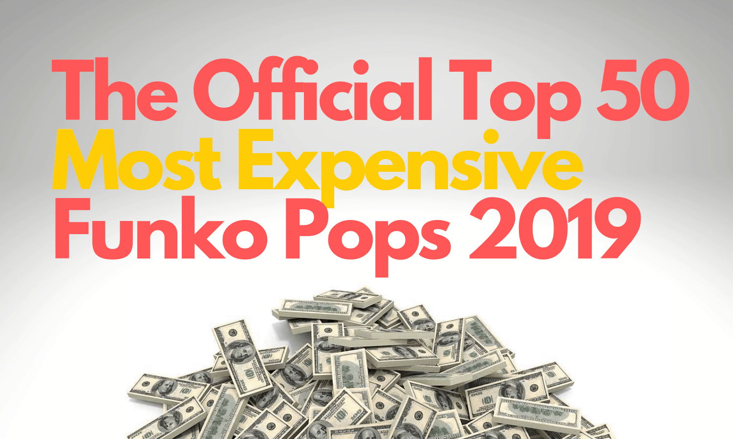 Most Expensive Funko Pop