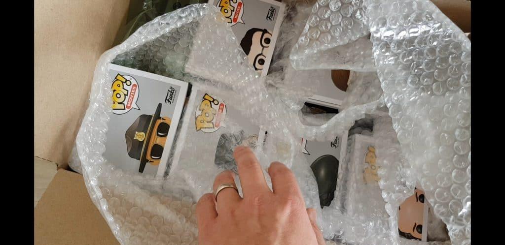 Funko Pop Mystery Box packaging