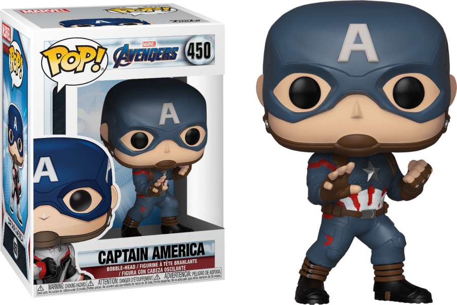 Cap Avengers End Game Funko Pop