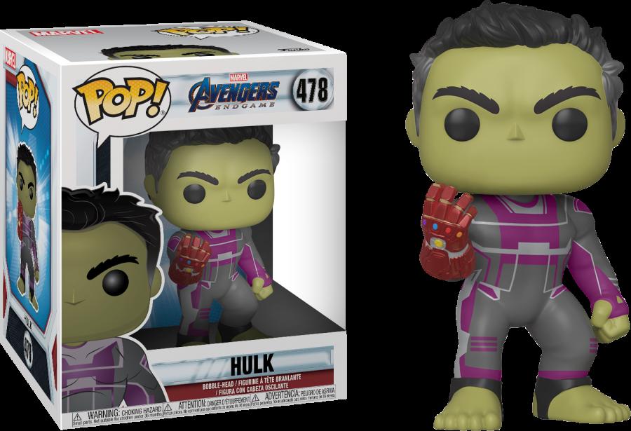 Hulk Avengers End Game Funko Pop