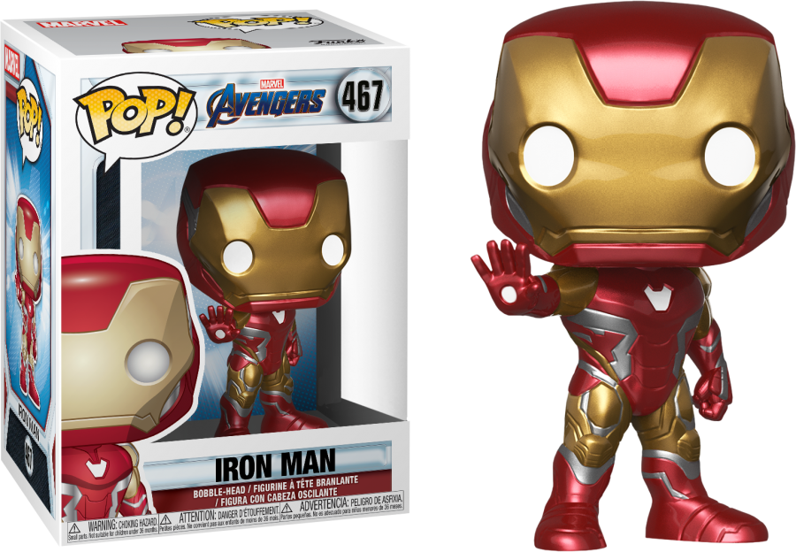Iron Man Avengers End Game Funko Pop