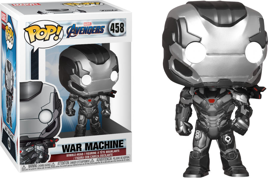 War MAchine Avengers End Game Funko
