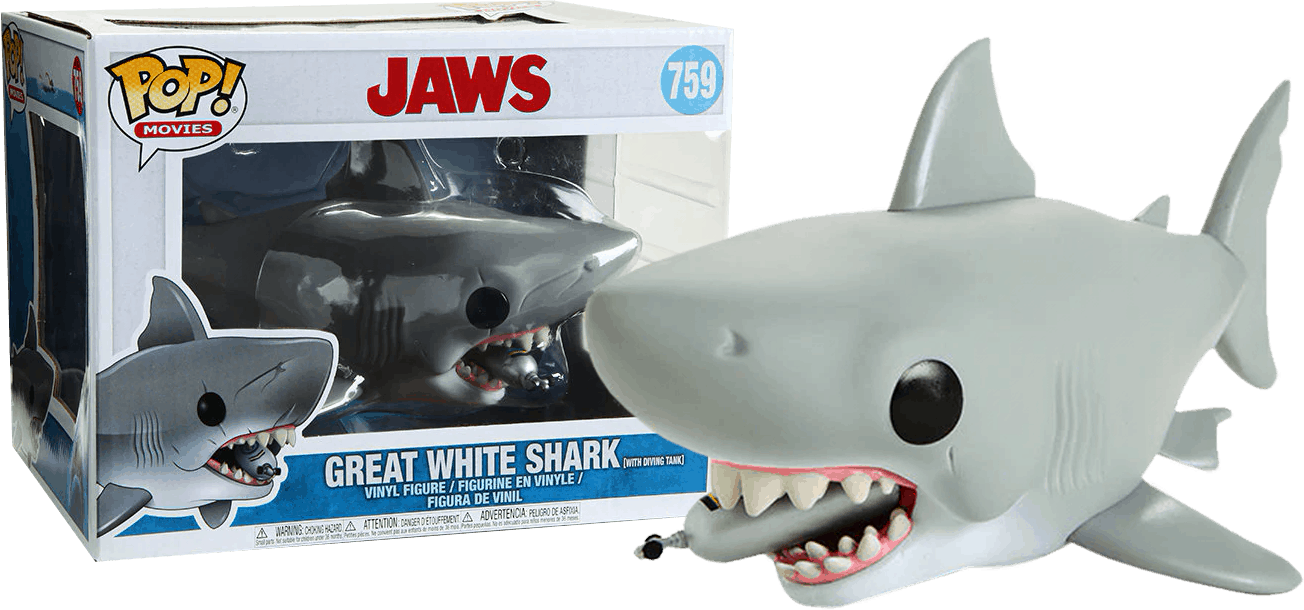 Great White Shark Funko Pop