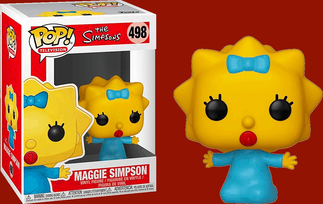 Maggie Simpson Funko Pop